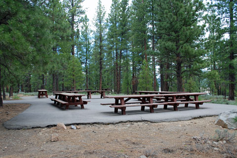 Emigrant Group Campground, Stampede Reservoir  Tahoe National Forest