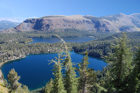 Lake George and Lake Mary,  Mammoth Lakes, CA