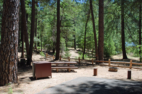 Hallsted Campground, Feather River Canyon, Plumas National Forest