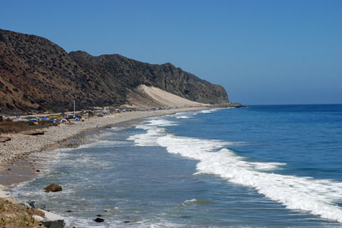 Thornhill Broome Beach at Point Mugu State Park, CA