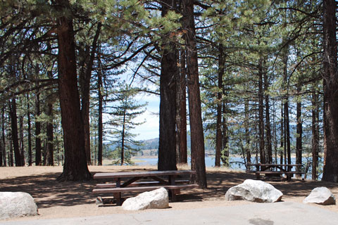 Big Cove Campground, Frenchman Lake, Plumas National Forest