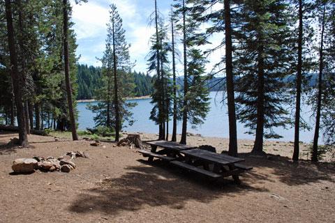Black Rock Tent Campground - Little Grass Valley Reservoir