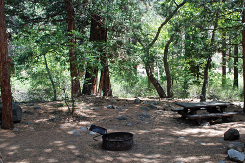 Chilcoot Campground, near Frenchman Lake, Plumas National Forest