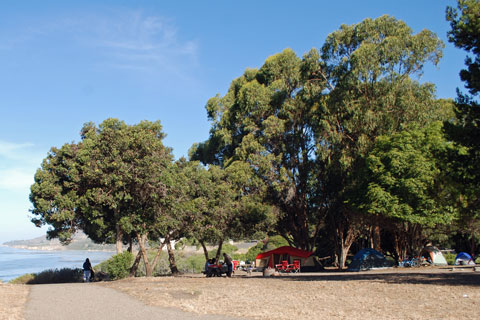El Capitan State Beach Campground, CA