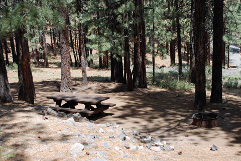 Frenchman Campground, Frenchman Lake, Plumas National Forest