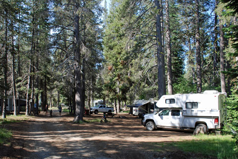 Gold Lake Campground, Lakes Basin, Plumas National Forest
