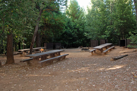Hornswoggle Group Campground, New Bullards Bar Reservoir, CA