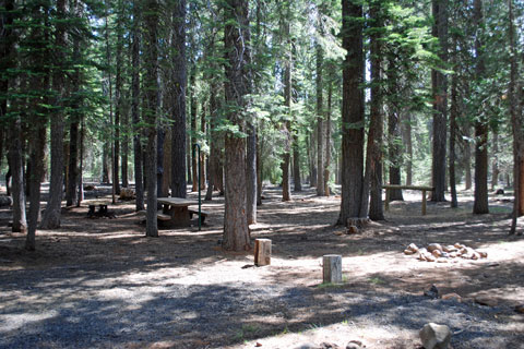 Horse Campground, Little Grass Valley Reservoir, Plumas National Forest