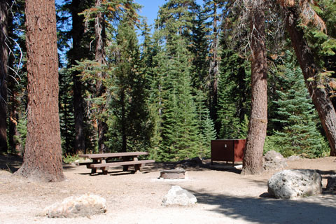 Kirkwood Campground, Kirkwood Lake, Eldorado National Forest, CA