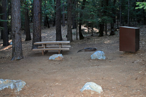 Loganville Campground, North Yuba River, Tahoe National Forest