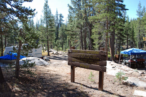 Middle Creek Campground, Humboldt-Toiyabe National Forest, CA