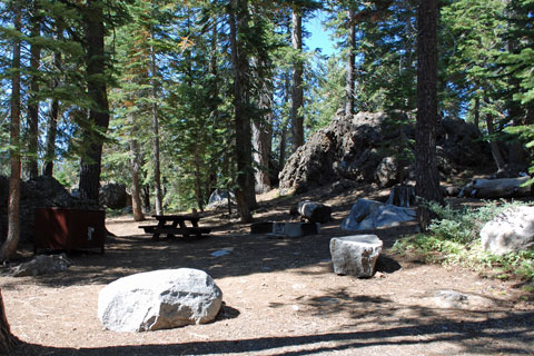 Silver Lake West Campground, Eldorado National Forest, CA
