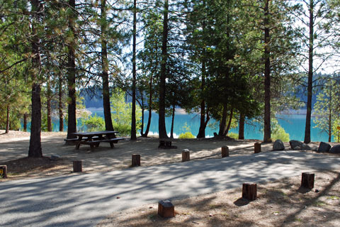 Sly Creek Camp, Sly Creek Reservoir, Plumas National Forest