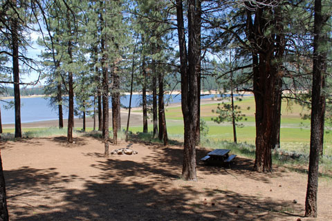 Spring Creek Campground, Frenchman Lake, Plumas National Forest