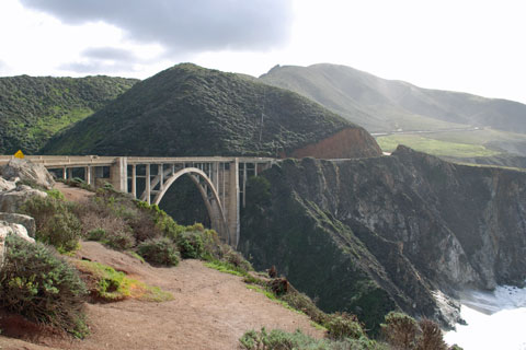 Bixby Bridge along Big Sur coast, CA