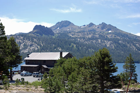 Caples Lake Resort, Carson Pass, Eldorado National Forest, CA