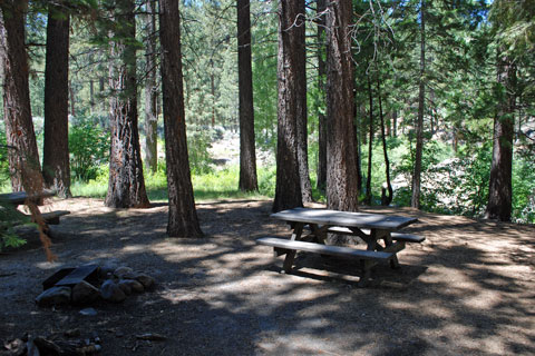 Grover Hot Springs State Park Campground, Alpine County, CA