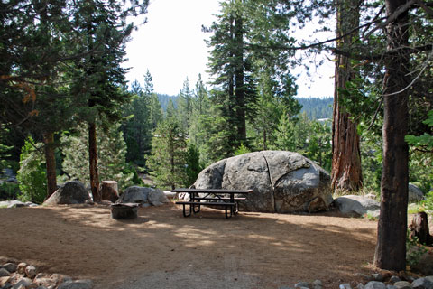 Sugar Pine Point Campground, Lower Bear River Reservoir, Eldorado National Forest, CA