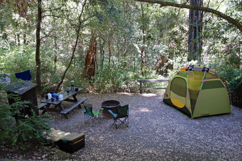 Hidden Springs Campground, Humboldt Redwoods State Park, CA