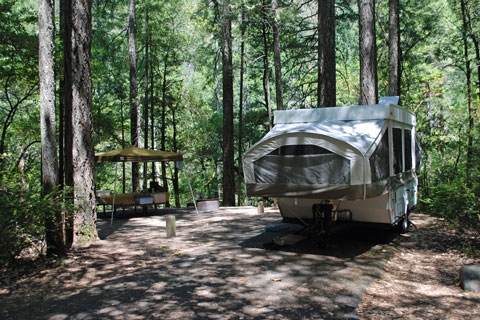 Panther Flat Campground, Six Rivers National Forest, CA