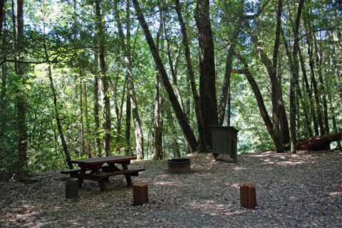 Rock Creek Campground, Standish-Hickey State Recreation Area, CA