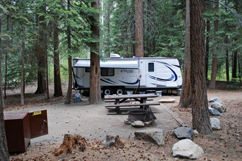 Big Bend Campground, Lee Vining Creek, CA