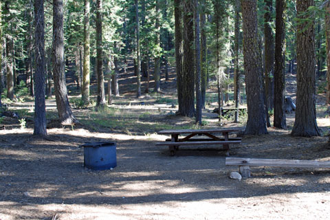 Grizzly Creek Campground, Plumas National Forest