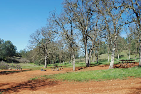 Equestrian Campground, New Hogan Lake, CA