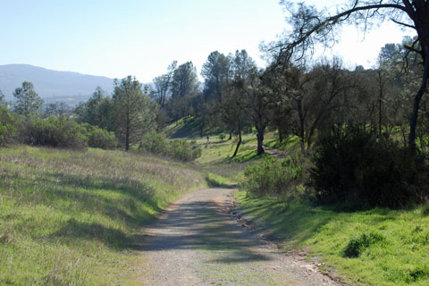 Equestrian trail, New Hogan Lake, CA