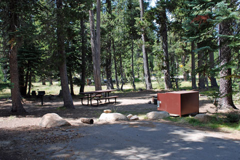 Wrights Lake Campground, Eldorado National Forest, CA