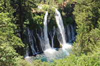 Burney Falls, Northern California campgrounds