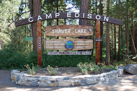 Camp Edison, Shaver Lake, Sierra National Forest, CA