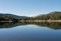 Jackson Meadows Reservoir,  Northern California campgrounds