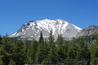 Lassen Peak,  Northern California campgrounds