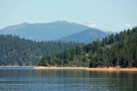 Trinity Lake,  Northern California campgrounds