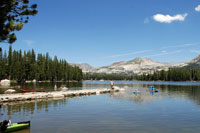 Wrights Lake, Central California campgrounds